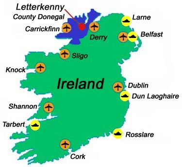 Map Of Ireland Knock.Top 10 Reasons To Visit Ireland S Donegal Places Donegal