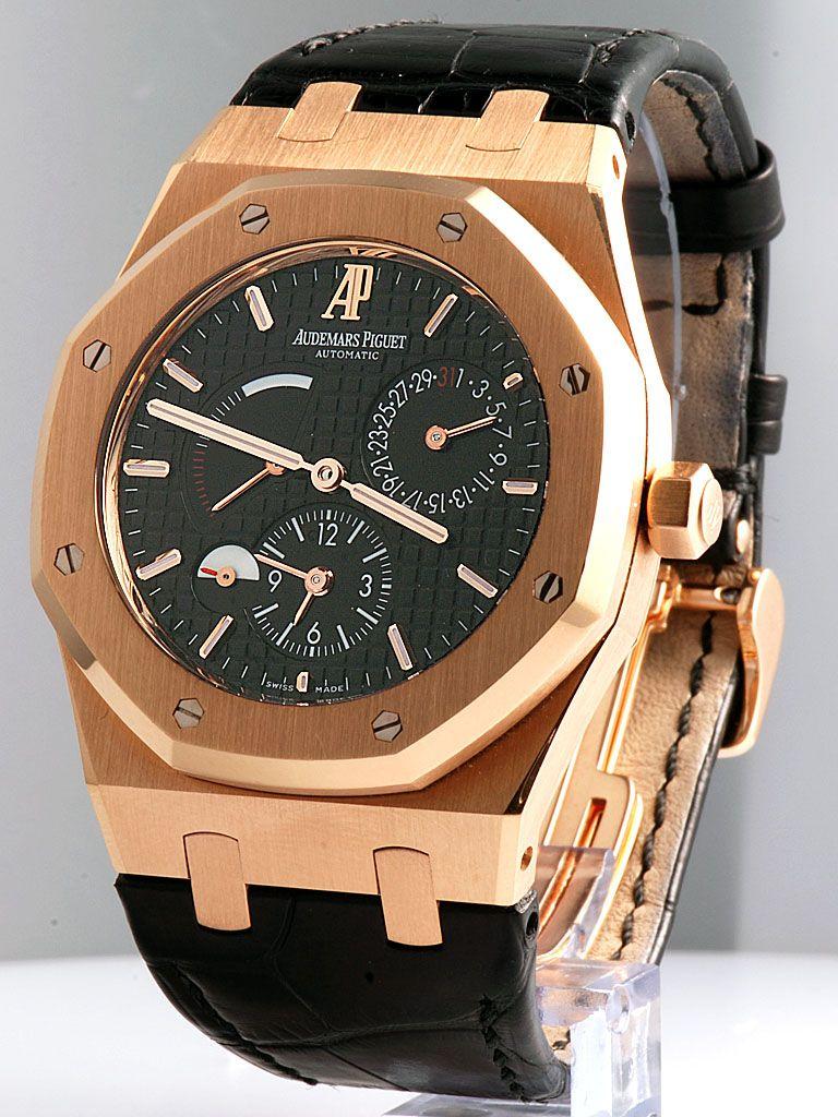 Audemars Piguet Royal Oak Dual Time Pink Gold