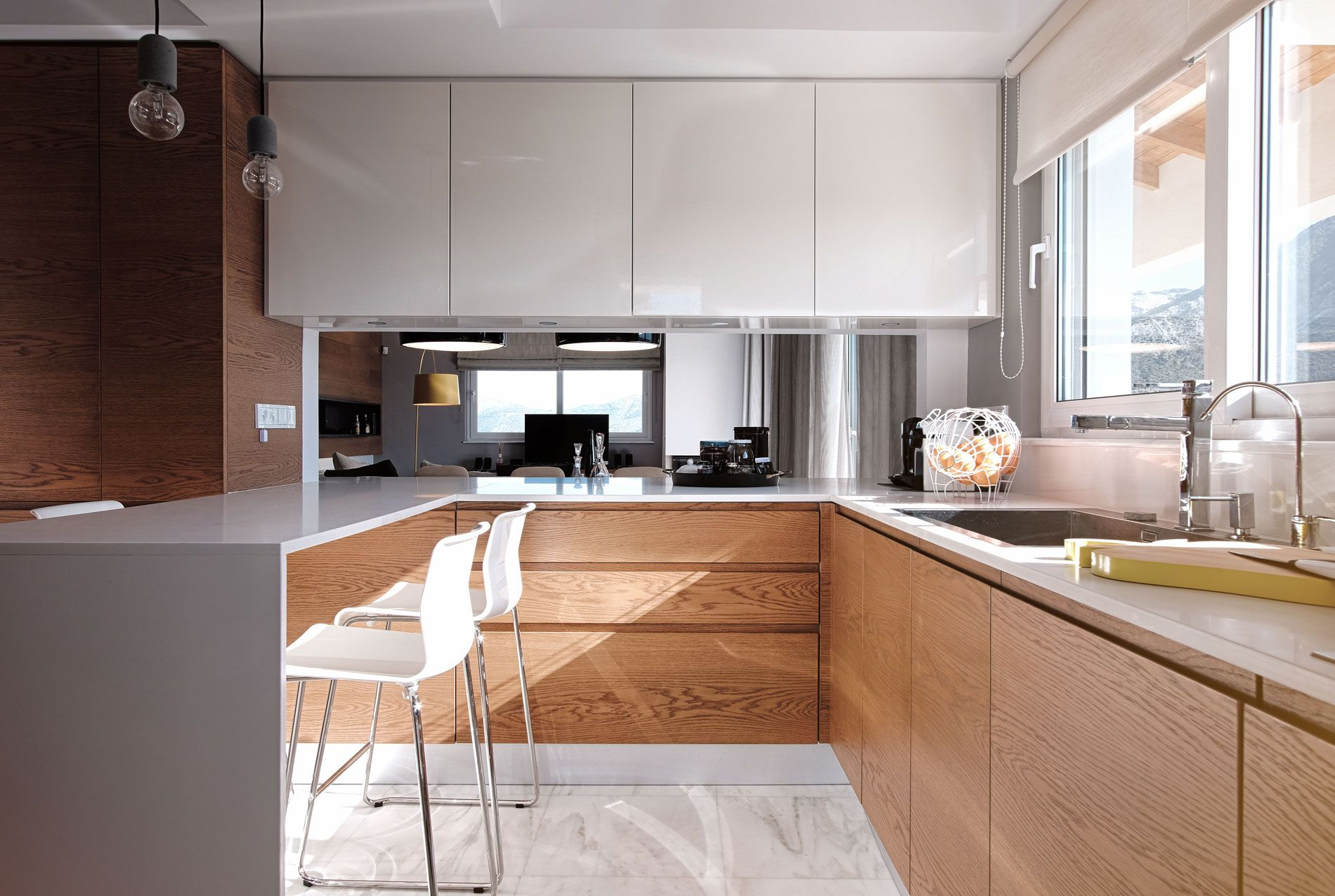 Clever Open Plan Kitchen