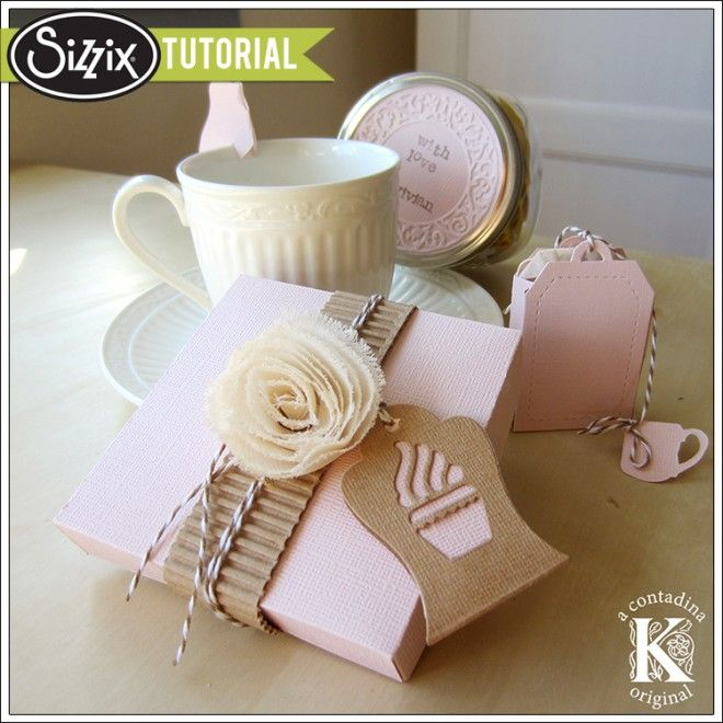 Sizzix Tutorial   Wellness Care Package by Vivian Keh