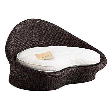 Amazon Com Gaiam Rattan Meditation Chair Espresso Finish