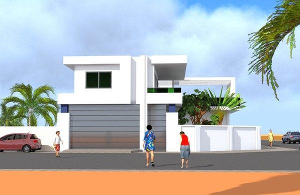 Projet D Une Villa De Luxe A Dakar Au Senegal Architecte