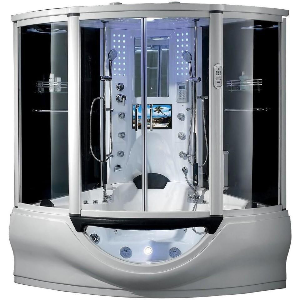 Flash Sale Maya Bath The Superior White Steam Shower 101