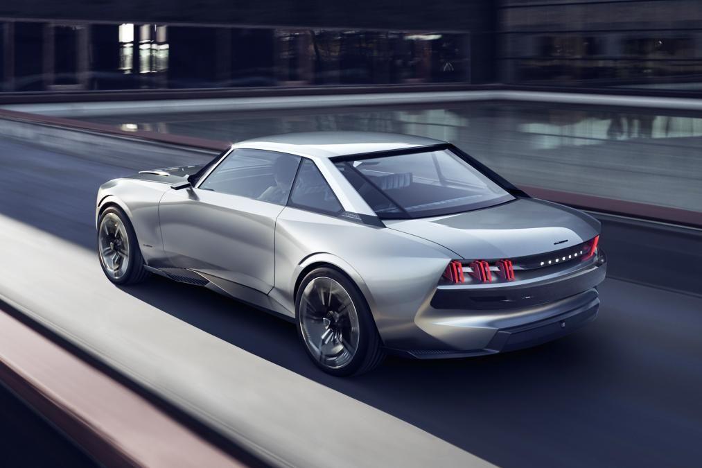 Peugeot E Legend Rear Concept Cars Peugeot Cars Concept Cars