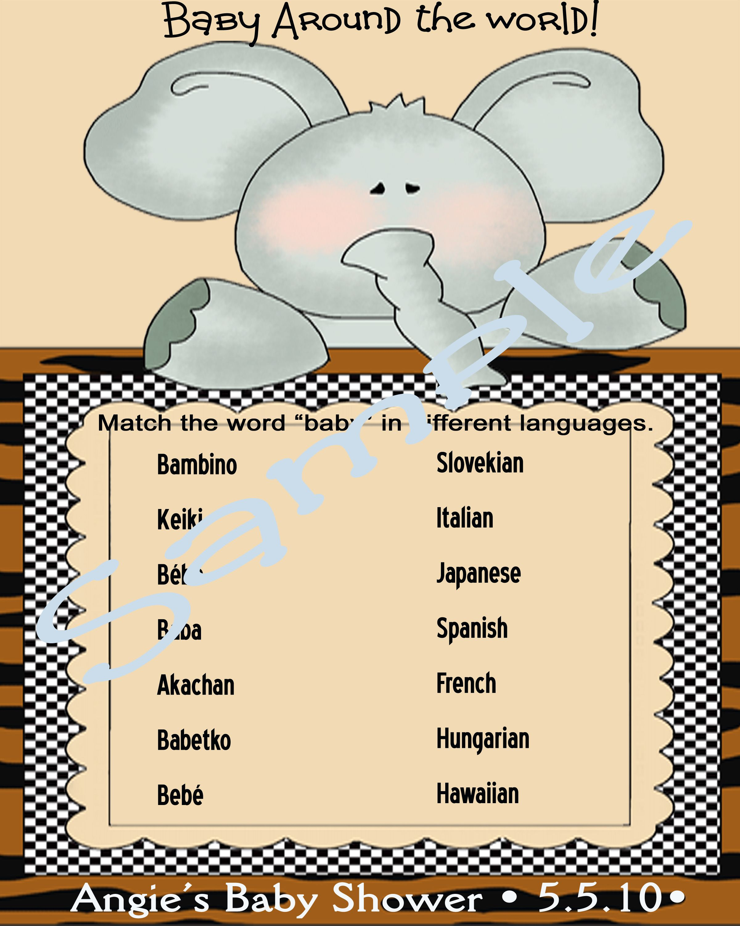 How To Say 5 In Different Languages