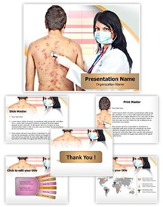 Chickenpox PowerPoint Presentation Template is one of the best - nursing powerpoint template