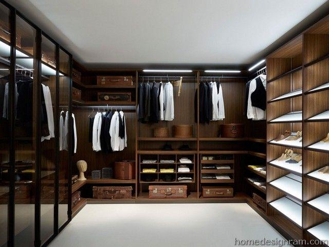 21 Stylish Minimalist Interior Closet Design Ideas