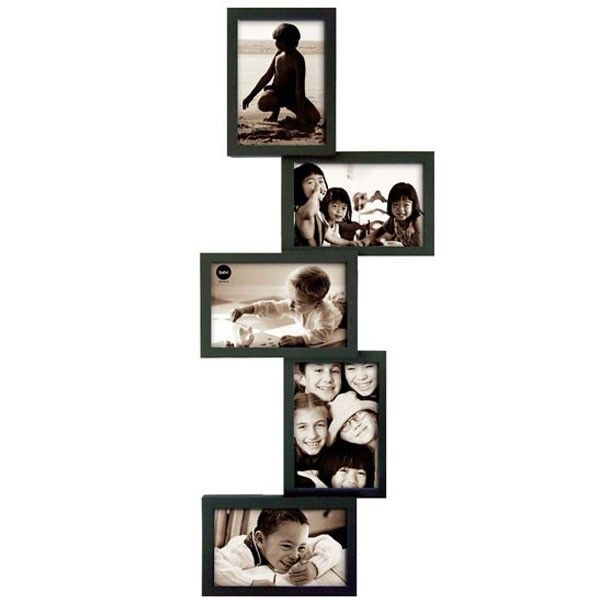 isernia tower multi frame black - Multi Photo Frames
