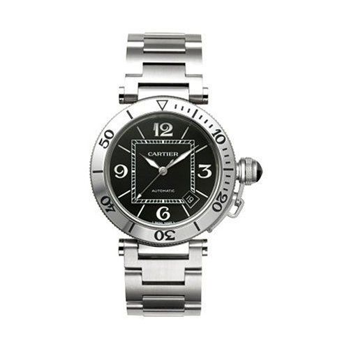 Cartier Men's W31077M7 Pasha Seatimer Automatic Stainless Steel Watch : Cartier   Best Watch Brands - Top 10 Best Watch Brands Review Deals click to buy with new price offer and deals