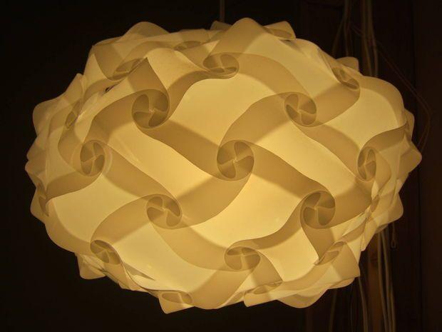 Universal Lamp Shade Polygon Building Kit Puzzle Lights Lamp Lamp Shade