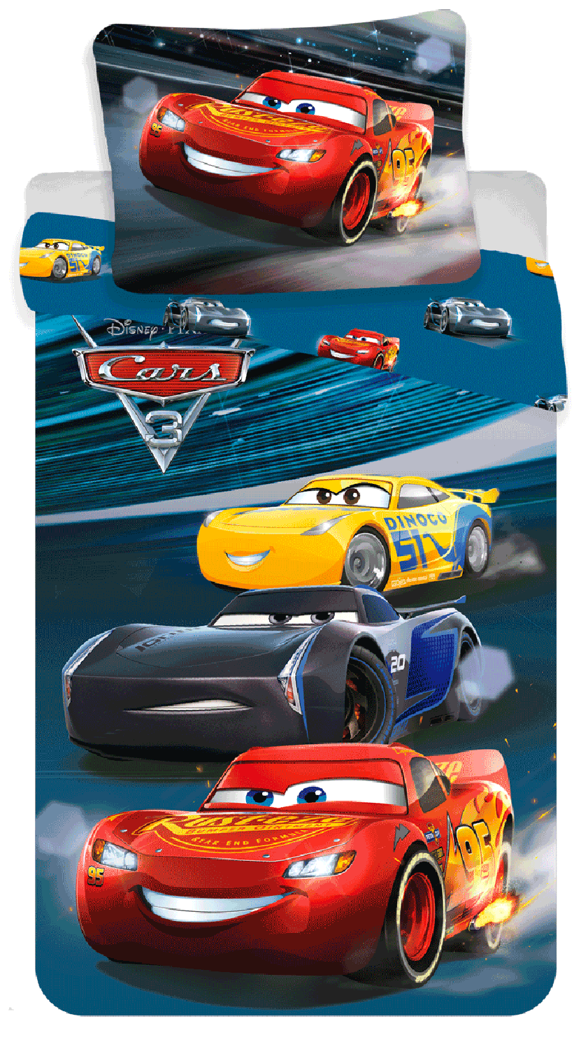 Cars Bettwäsche 135x200 Disney Cars 3 Bedding 100 Cotton Disney