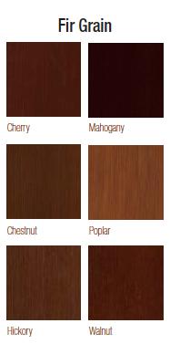 Clopay Fir Grain Stain Colors Available For Fiberglass Craftsman Entry Doors Craftsman Door Stain Colors Entry Doors