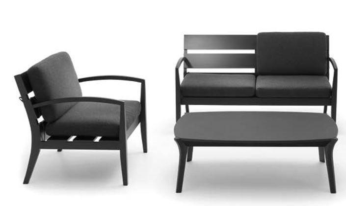 Ungewöhnlich Außergewöhnlich, Wohnzimmerset Mira.  Sessel+Loungestuhl+Sitzbank+Tisch #feelcomfort #