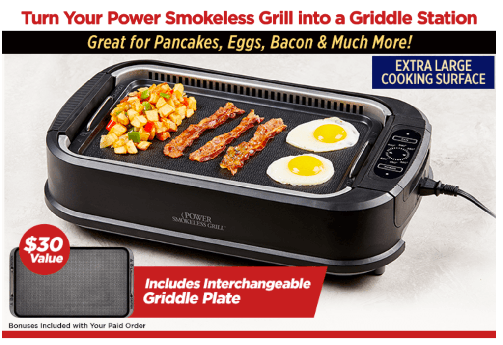 Smokeless Grill Reviews Testing As Seen On Tv Products Vivian Tries