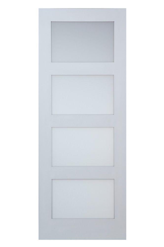 32x80 Door 32 In X 80 In 400 Series White Universal
