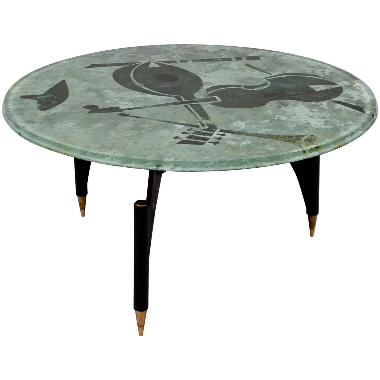Coffee Table By Dube Duilio Barnabe Fontana Arte Italy Circa 1950 1stdibs Com Coffee Table Furniture Table Furniture [ 1500 x 1500 Pixel ]