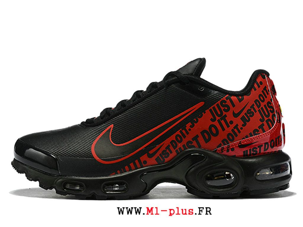 nike air max plus tn se noir rouge