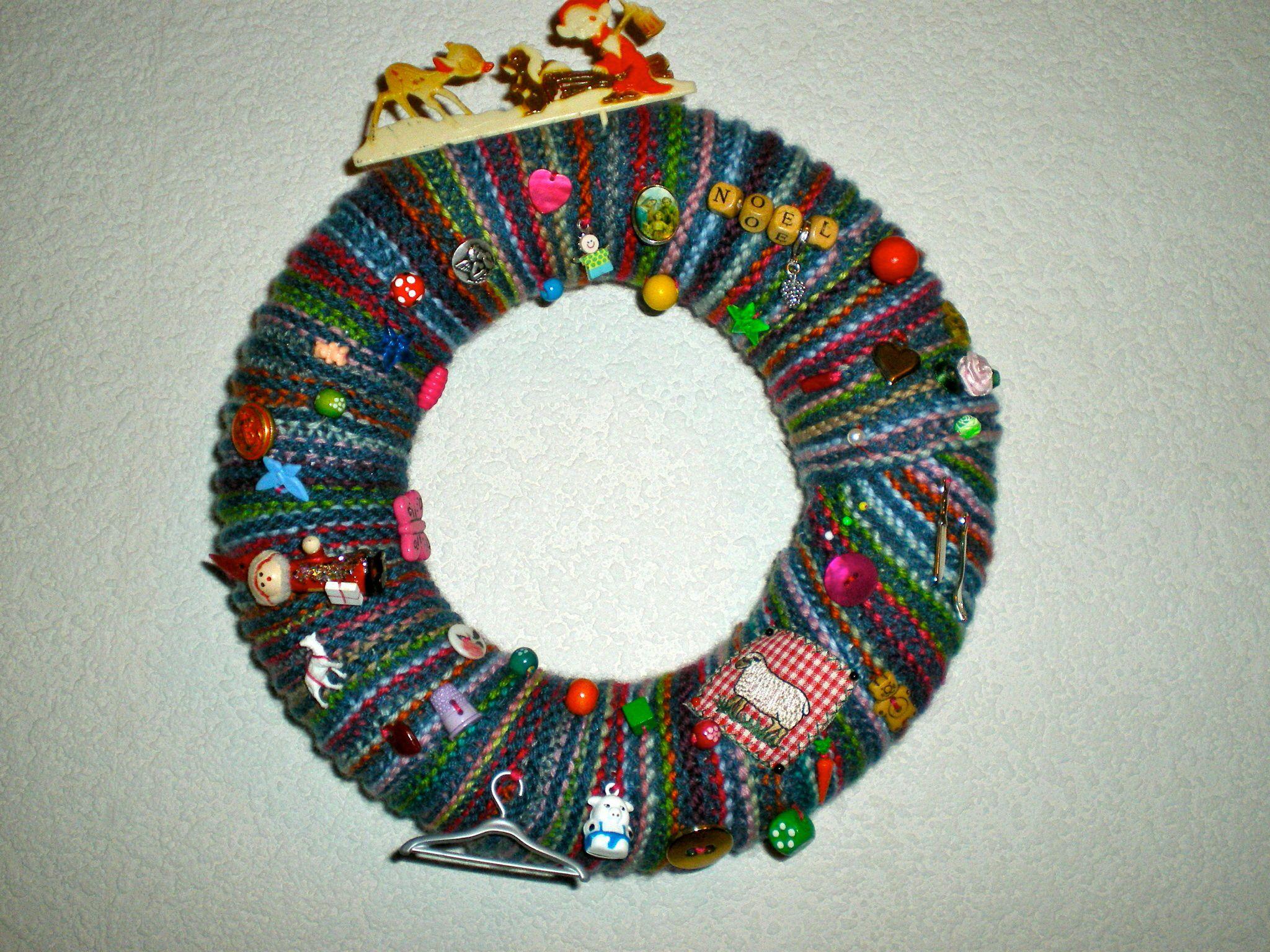 Ma couronne en tricot