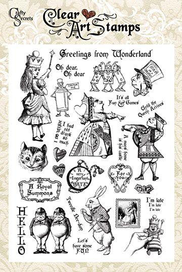 alice in Stamps | eBay