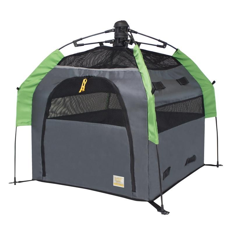 Angled view of dog tent without rainfly (large)  sc 1 st  Pinterest & Angled view of dog tent without rainfly (large) | Pet Travel ...