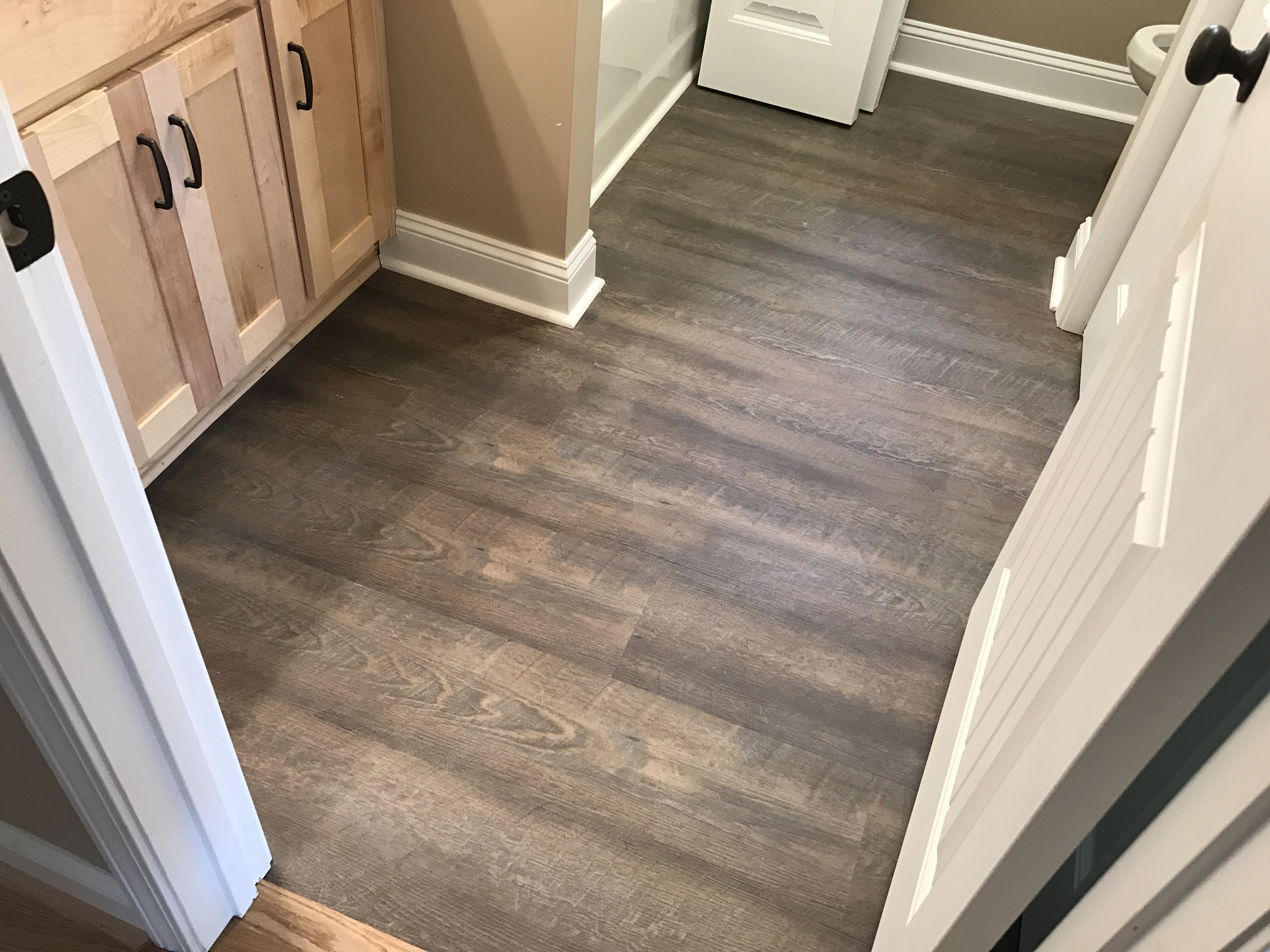 Coretec Plus Deep Smoked Oak Beach House Flooring Vinyl Plank