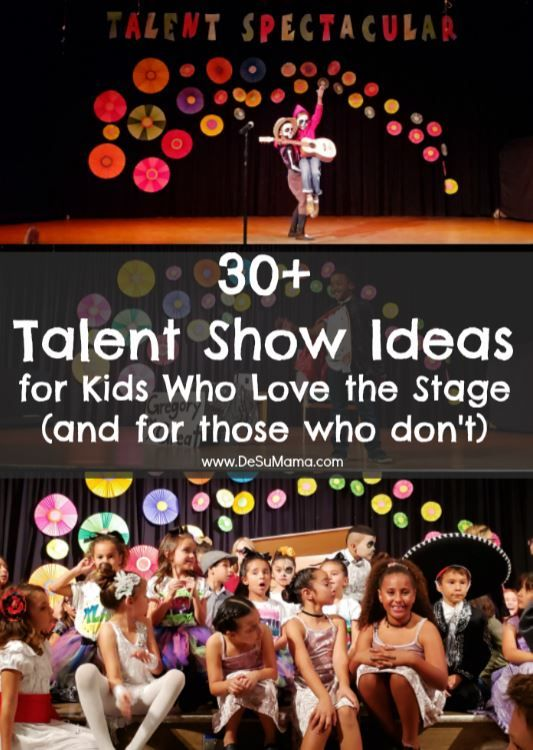 Talent Show Ideas for Kids Who Love Performing