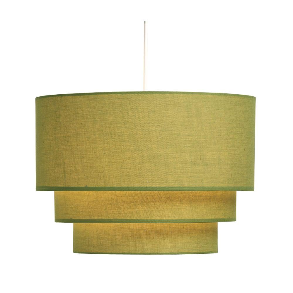Wilko 3 Tier Shade Olive Ceiling Light Shades Light Shades Ceiling Lights