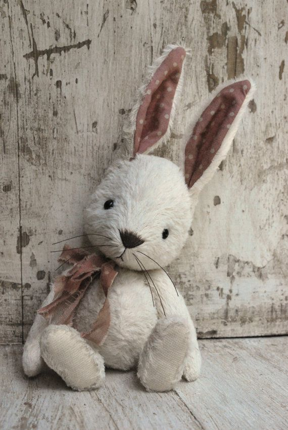 Artist Bear handmade Bunny May SOLD SOLD by bearwithmee on Etsy ...