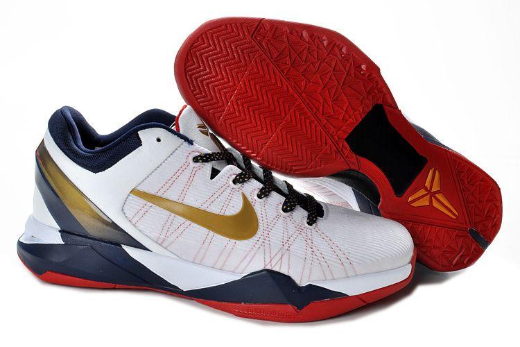 d1b600f53494 Kobe 7 Olympic White Gold Medal 488371 102 Shop Kobe Shoes 2013 ...