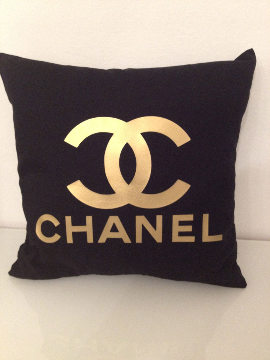 Chanel Leather Throw Pillow : Chanel pillows. This is a first for me! I just thought that Chanel only had purses, wallets, and ...