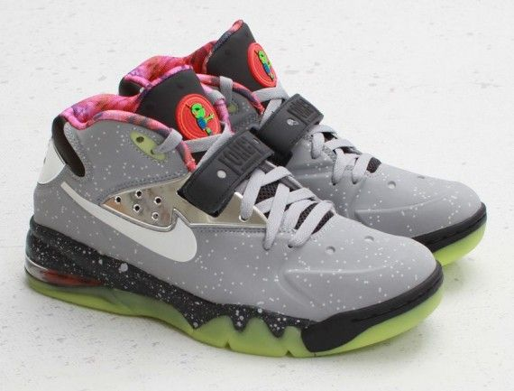 "Nike Air Force Max 2013 ""Area 72″ - Arriving at Retailers -  SneakerNews.com. WolvesGreyNike ..."