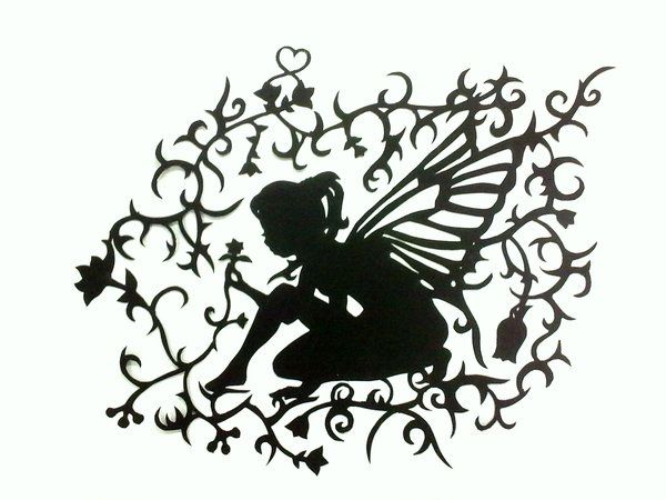 23+ Paper fairies cut out inspirations