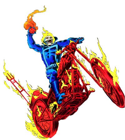 Ghost Rider (Johnny Blaze) | comic art | Ghost rider, Ghost