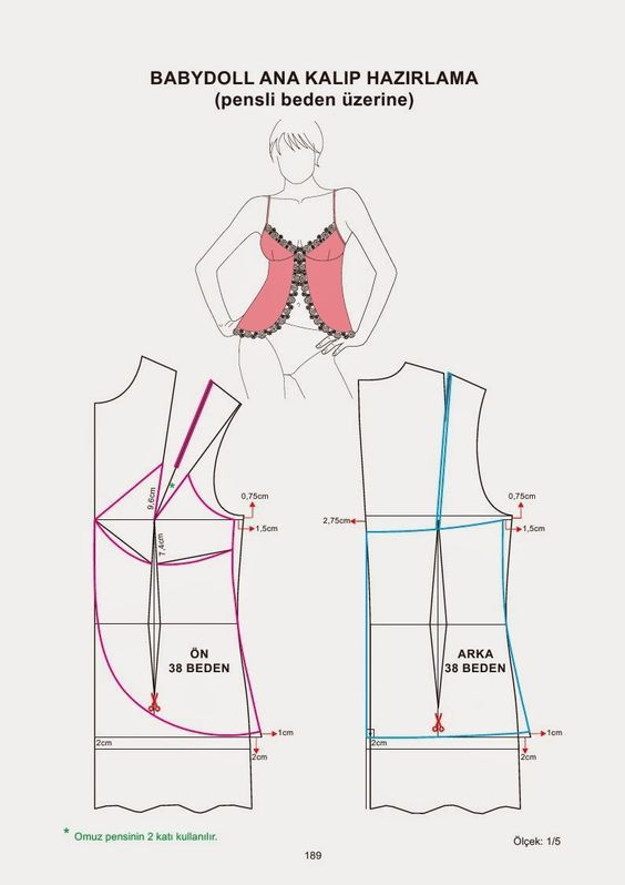 pattern | lencería | Pinterest | Patrones, Costura y Molde