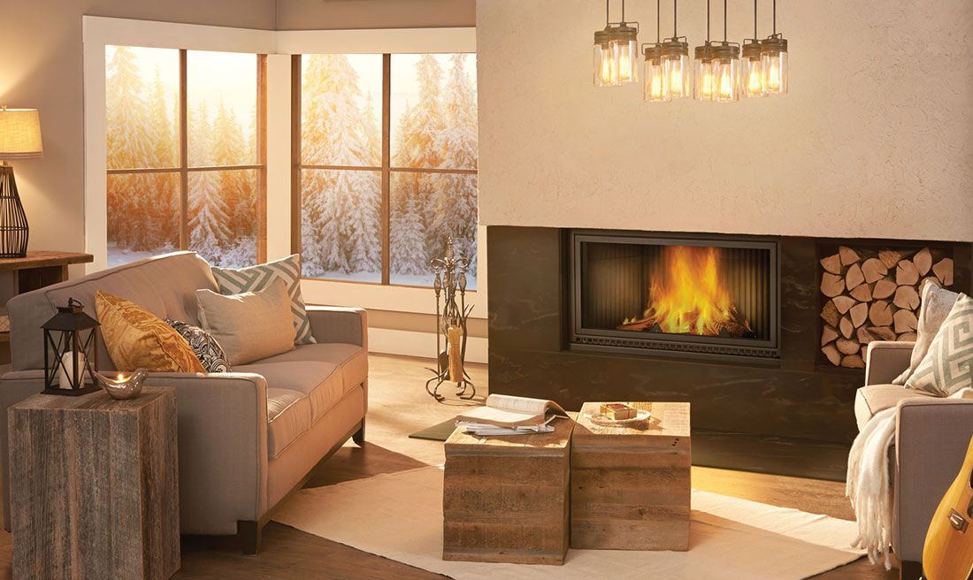 Napoleon High Country 7000 Wood Fireplace Wood Fireplace Wood
