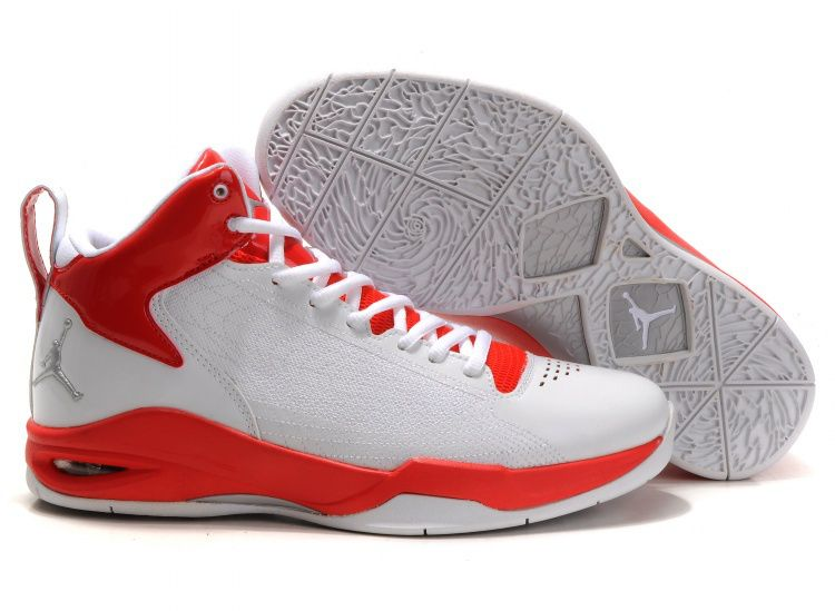 Jordan Fly 23 Shoes White Sport Red