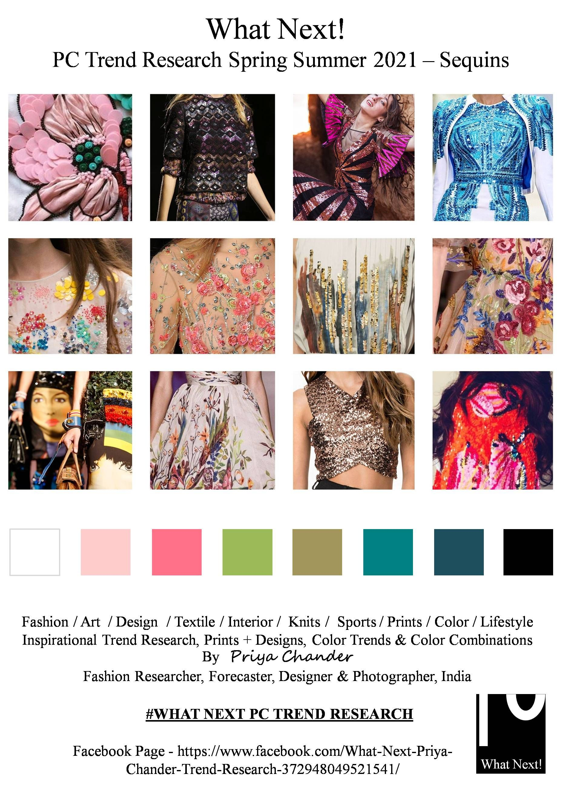 #Sequins #sequinfashiontrend #SS2021 #sequinfashion #WhatNextPCTrendResearch