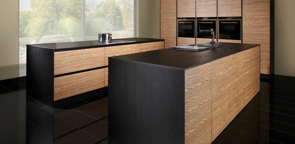 Cocinas madera modernas buscar con google cocinas - Muebles cocina modernos ...
