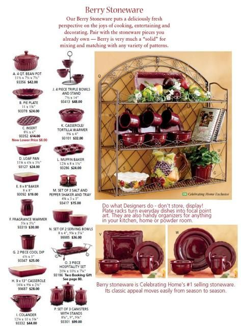 Berry Stoneware collection availiable. Mix and match with your ...
