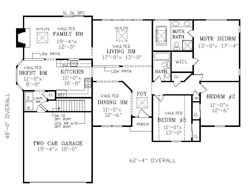 Planos vivienda una sola planta cerca amb google for Casa de una sola planta planos