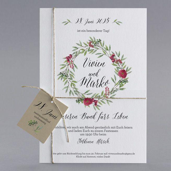 Unsere Hochzeitskarte Julietta Karte Hochzeit Hochzeitskarten Hochzeitseinladung