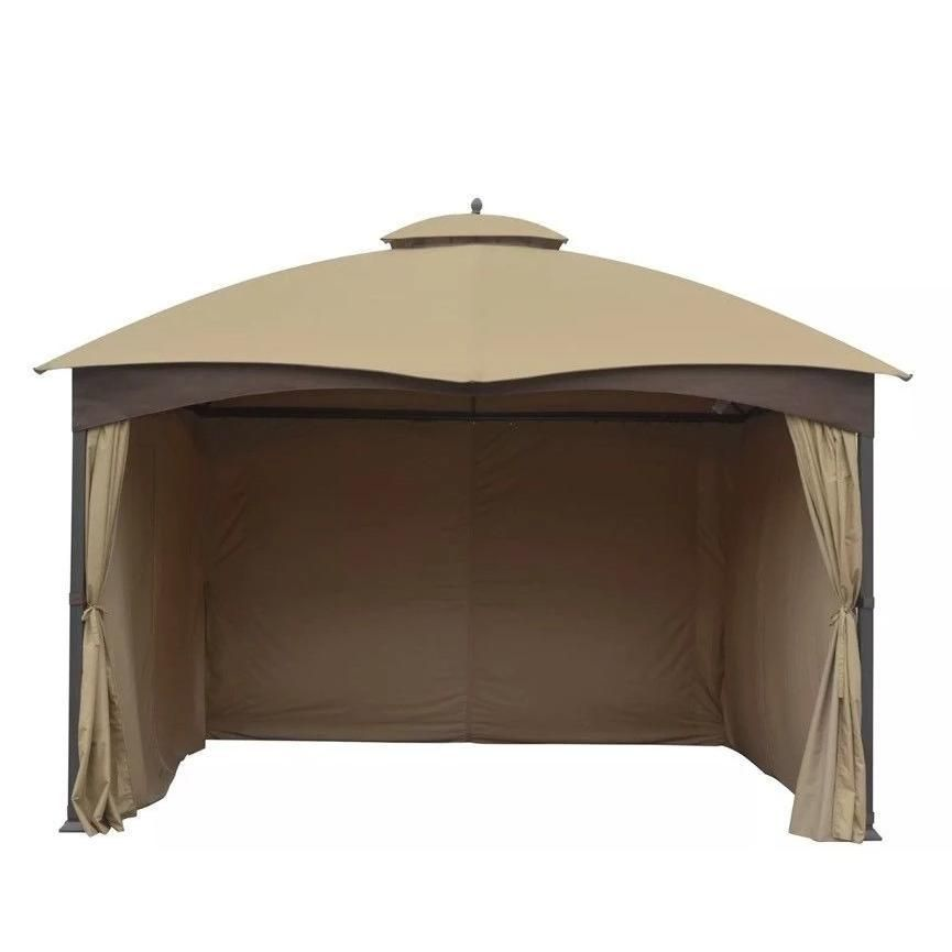 Universal 10 X12 Lowes Allen And Roth Oem Full Set Gazebo Curtains 4 Sides Lowe S 510327 In 2020 Gazebo Gazebo Curtains Privacy Curtains