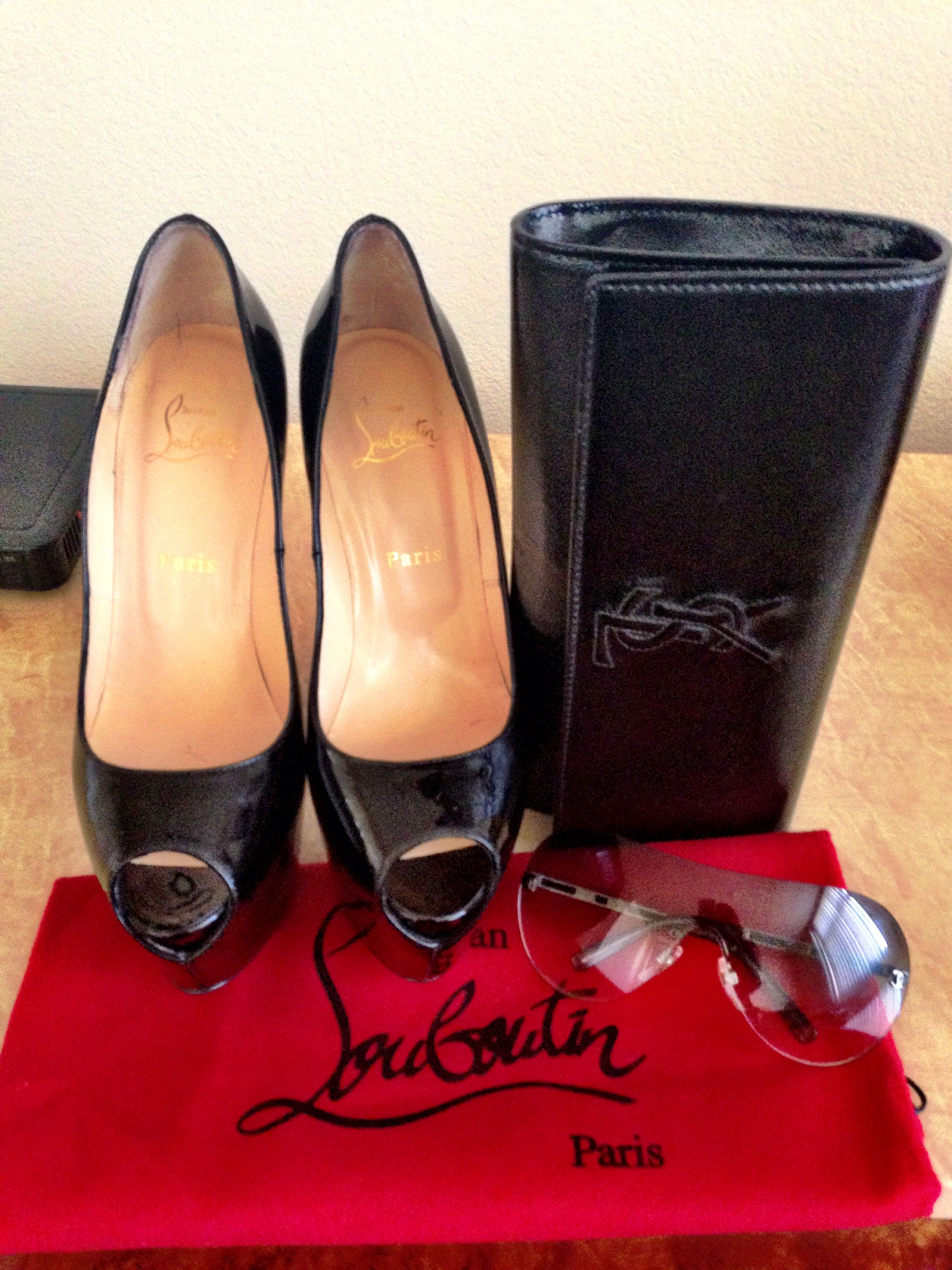 From my personal collection #LouBoutin