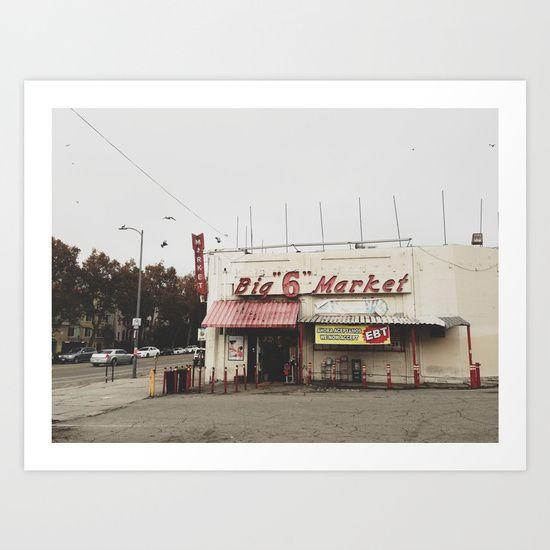 Westlake, Los Angeles, California. Taken with iPhone. | Prints ...