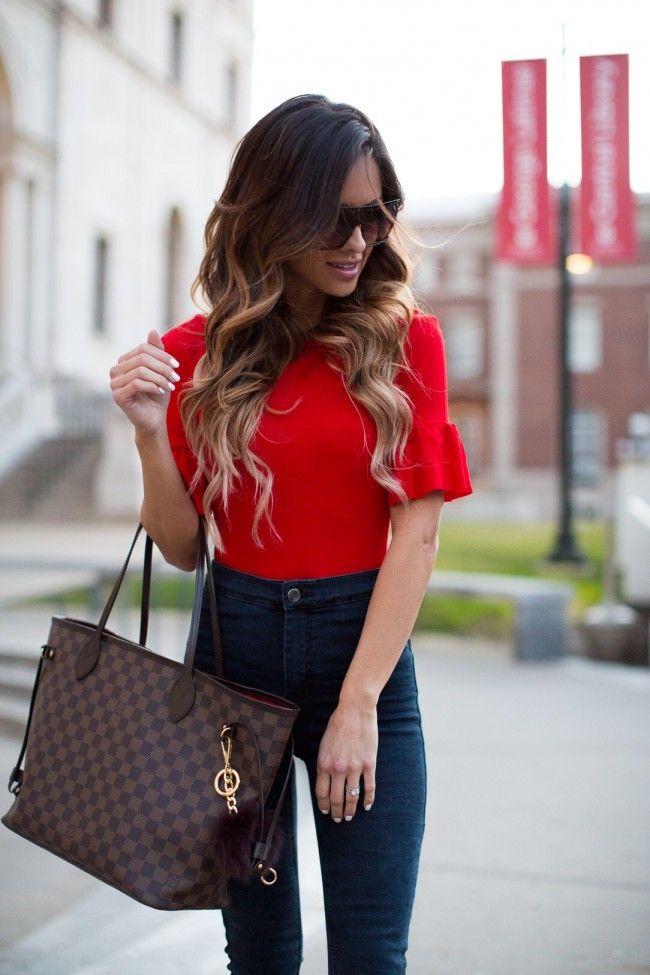 The Color Of The Moment Mia Mia Mine Neverfull Outfit Louis Vuitton Neverfull Outfit Louis Vuitton Neverfull