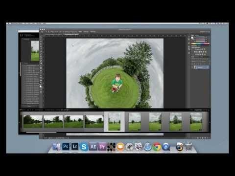 Tutorial Pequeno Planeta - Photoshop - YouTube