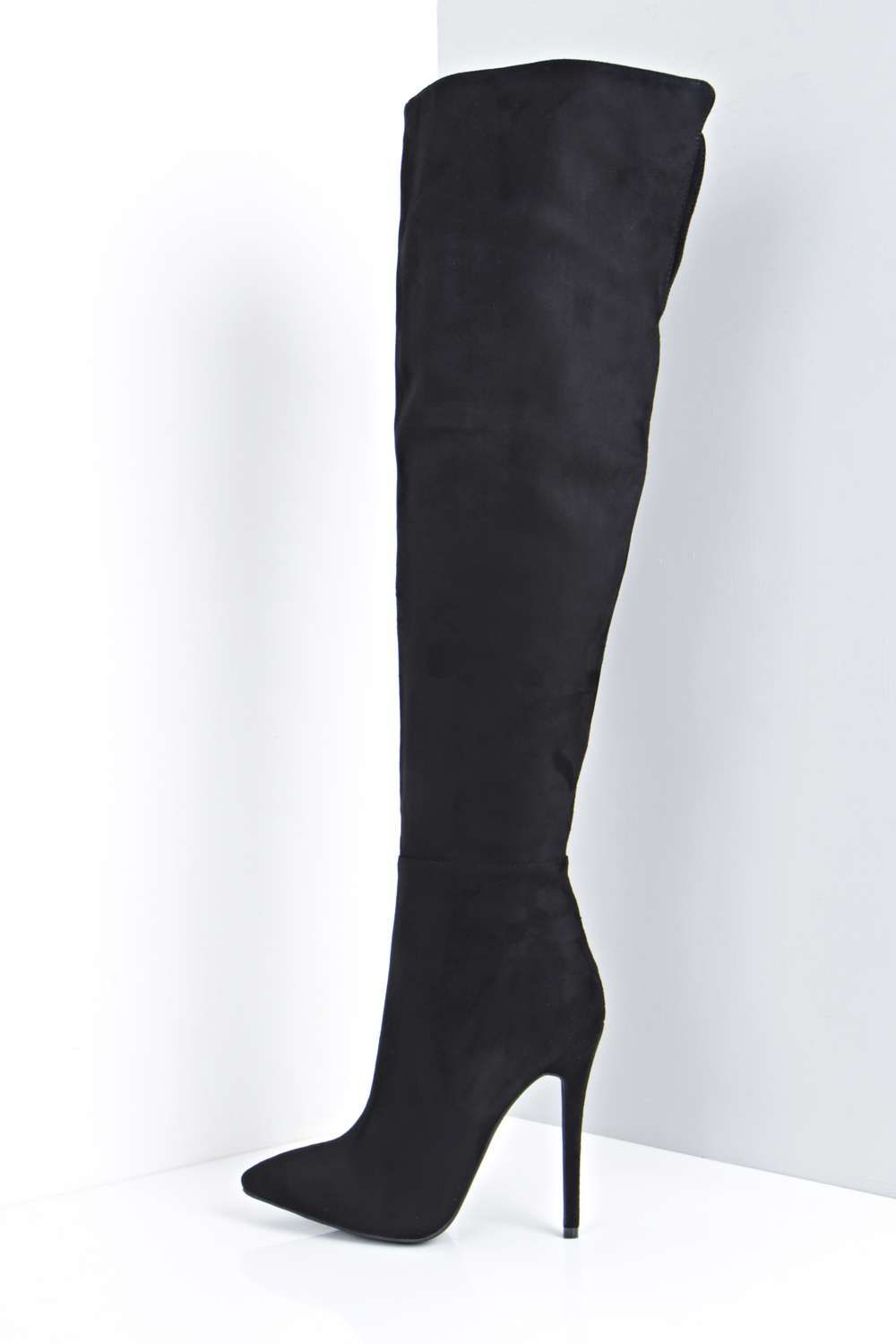 981040b7d6b Maya Thigh High Pointed Toe Boot   Colder weather in 2019   Boots ...