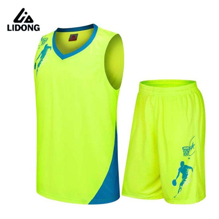 Men Women Basketball Jerseys Sets Uniforms Sport Kit Clothing Shirts Shorts