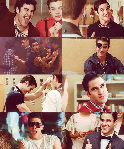 Blaine with Kurt <3