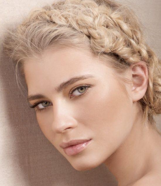 Natural make-up.